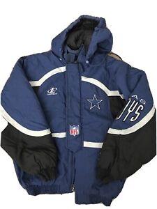 Vintage NFL Pro Line Authentic Dallas Cowboys Jacket Coat Size Medium