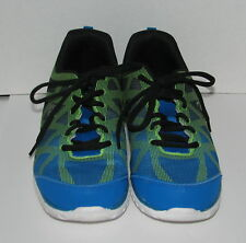 d7e3ece117856 Champion Running Shoes Sneakers Men s size 10.5 Blue Charcoal green  Pre-Owned