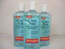 3 NEUTROGENA CLEAR PORE OIL ELIMINATING ASTRINGENT 8 OZ EA EXP 1/22+ JL 11963
