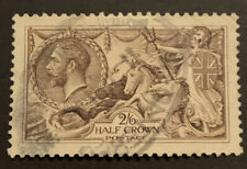 1913/18 GB UK Royal Mail George V - Seahorse 2s 6d Brown- used - SG414  Cat £60
