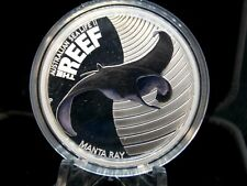 2012 Australian Sea Life Manta Ray 1/2 oz Silver Proof Box & COA ECC&C, Inc.