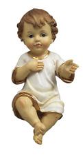 Gesù Bambino Bambinello in Resina cm. 16 by Paben