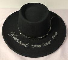 Garret Dillahunt SIGNED Cowboy Hat w/ Proof ~ Fear The Walking Dead John Dorie