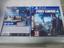 Sony PlayStation 4 Video Game Manuals, Inserts & Box Art in English