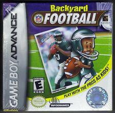 GBA Backyard Football (2002) Brand New & Nintendo Factory Sealed