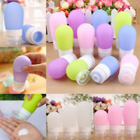 New Silicone Travel Bottle Lotion Shampoo Cosmetic Empty Mini Container Charm