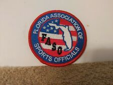 FLORIDA ASSOCIATION OF SPORTS OFFICIALS 3 X 3 INCHES