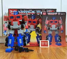 Transformers Japanese DIABLOCK lego Convoy Optimus Kreo Kawada Rare G1
