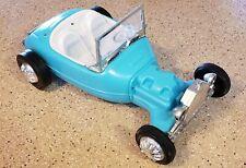 Vintage 1963 Mattel Barbie Turquoise Irwin Hot Rod Car missing Engine