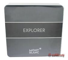 Mont Blanc Explorer 3 Pcs Set With3.4 oz.Edp Spray For Men New In Box