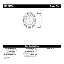 Brake Drum fits 1965-1969 Chevrolet Chevelle Corvair Chevy II  CENTRIC PARTS