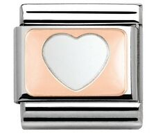 nomination charm Rose Gold Heart RRP £16