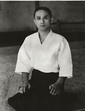 Gozo Shioda Signed Photograph Very Rare Yoshinkai Aikido