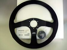 JDM HONDA 無限 MUGEN Power Steering Wheel MOMO Racing3 Suede 350mm 53100-XG8-K1S0