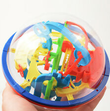 3D 100 Barriers Labyrinth Magic Intellect Ball Balance Maze Puzzle Perplexus Toy