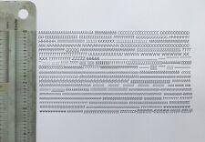New Letterpress Type 12 Point Gill Sans Light Italic