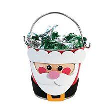 Santa Bucket Craft Kit - Make 12 Buckets