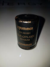 Elko Elektrolyt Kondensatoren, Snap-In, 470uF 450V 105°C Hochstrom - 2 Stück