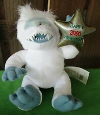 Limited Ed. Abominable Snowman Rudolph Island Of Misfit Toys-1999 Stuffins Wtags