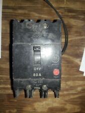 GENERAL ELECTRIC TEY380ST12 BREAKER 60A nice takeout