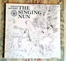 The Singing Nun: Soeur Sourire with Lyrics and Watercolors Catholic Gatefold LP