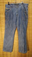 SOUTHPOLE JEANS SIZE 36 X 30 DARK WASH RELAXED FIT MENS BLUE JEANS