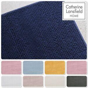 Catherine Lansfield Home Luxury Bobble Bath Mat Various Colours