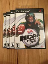 EA SPORTS NCAA FOOTBALL 2003 - PS2 - COMPLETE W/MANUAL - FREE S/H (X)