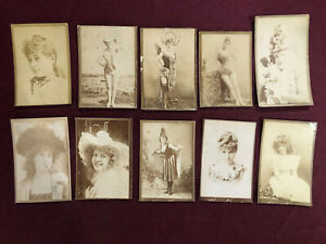 10 TRIMMED BLANK BACKED TOBACCO CARDS HONEST LONG CUT?