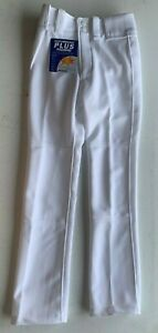 Mizuno 350389 Youth Premier Pro G2 Baseball Pants NWT White Size S or M BB013