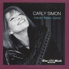 CARLY SIMON<>NEVER BEEN GONE<>PROMO CD FROM THE MAIL ON SUNDAY