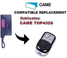 CAME TOP432S Garage Door/Gate Remote Control Replacement/Duplicator