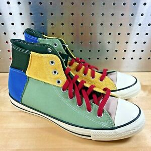 New Converse Chuck Taylor All Star Hi BHM Sneakers 168274C Men's Size 9.5