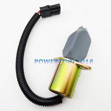 12V Fuel Shutoff Solenoid Valve 129953-77803 for Yanmar Kubota Super Mini Series