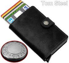 Secrid Leather Aluminium Credit Card Case, Purse Ec Card Holder Money Clip New