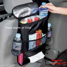 Car Seat multi-purpose vehicle keep warm or cold with the Storage bag Black New