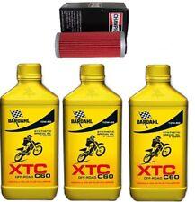 KIT TAGLIANDO BARDAHL XTC 10W50 4 T CROSS + FILTRO OLIO KTM SX-F 450 2009