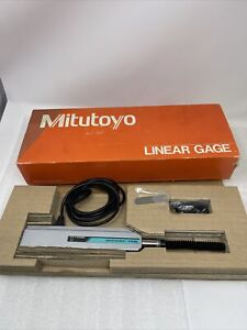 """0-2"""" Mitutoyo Linear Gage LGD 575-333, .0005"""" Resolution, .0012"""" Accuracy, NOS"""