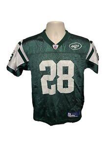 NFL Reebok New York Jets Curtis Martin #28 Boys Large 14 16 Green Jersey