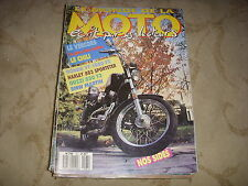 LE MONDE DE LA MOTO 167 03.1989 HONDA VF 1000 GUZZY 850 HARLEY 883 SPORTSTER