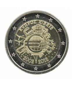 "2 euro commémorative  2012 CHYPRE ""NEUVE UNC"" TYE"