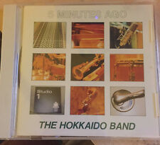 TOMOKI TAKAHASHI The Hokkaido Band 5 FIVE MINUTES AGO CD Japan Fusion Jazz Sax