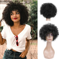 Afro Perruque Thick Ombre Short Curly Wigs Full Wigs Bob Wigs Kinky Curly Wig