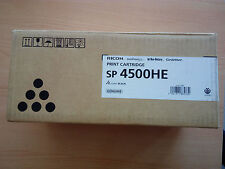 Genuine Toner Black RICOH SP 4500HE 407318 Nashuatec Rex-Rotary Gestetner