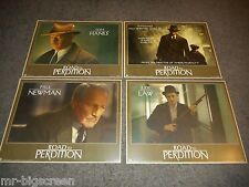 THE ROAD TO PERDITION - ORIG, 11 CARD PROMO LOBBY SET + MINI-BOOK! - TOM HANKS