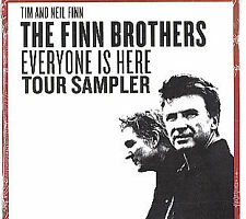 FINN BROTHERS 2 Trx TOUR SAMPLER PROMO CD Crowded House SEALED tim Neil