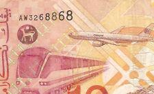 1st prefix  AW3268868 Malaysia Ali side  banknote $10 ! very nice