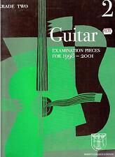 GUITAR Grade 2 Exam Pieces 1998-2001, Trinity College London,  NEW MUSIC BOOK