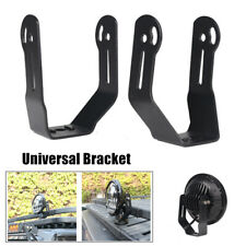 Roof Front Bar 7'' Round Headlight Universal Bracket Mounting Light Clamp Holder