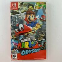 *Damaged* case only - Super Mario Odyssey (Nintendo Switch, 2017) No game cart